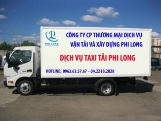 Taxi tải Phi Long tại phố Lò Đúc