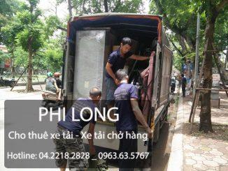 Cho thuê xe tải chở hàng giá rẻ tại phố Trần Quốc Toản