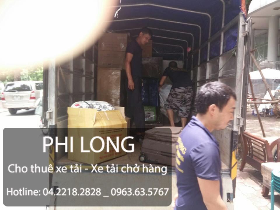 Phi Long cho thuê xe tải chở hàng giá rẻ tại phố Lý Thái Tổ