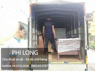 Dịch vụ cho thuê xe tải chở hàng giá rẻ tại phố Tràng Thi