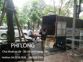 Cho thuê xe tải chở hàng tại phố Thợ Nhuộm