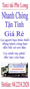 Taxi tải giá rẻ tại Hà Nội