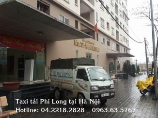 Cho thuê xe tải chuyển nhà giá rẻ tại phố Núi Trúc