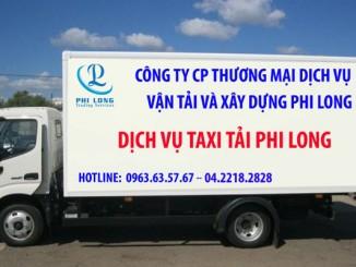 Cho thuê xe tải 1.4 tấn Phi Long