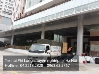Hãng taxi tải Phi Long tại phố Văn Yên