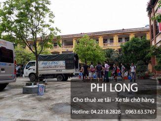 Cho thuê xe tải chở hàng giá rẻ tại phố Dã Tượng