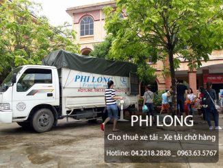 Taxi tải Phi Long hãng cho thuê xe tải uy tín tại phố Phan Bội Châu