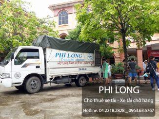Phi Long cung cấp cho thuê xe tải chở hàng giá rẻ tại phố Quán Sứ