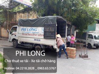 Phi Long hãng cho thuê xe tải chở hàng chuyên nghiệp tại phố Nam Ngư