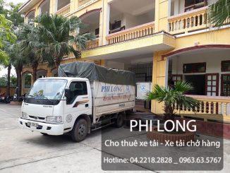 Phi Long hãng cho thuê xe tải chở hàng tại phố Tôn Thất Tùng