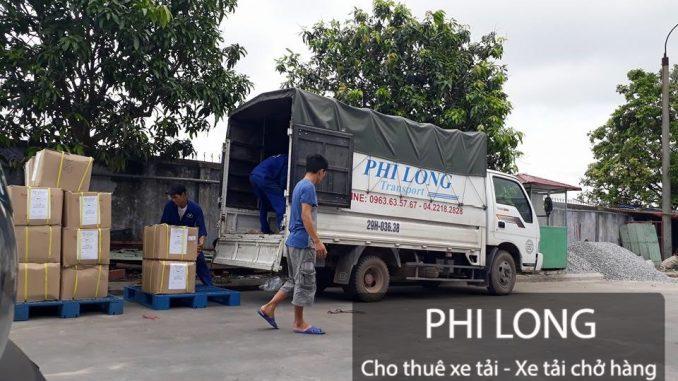 Cho thuê xe tải chở hàng giá rẻ tại phố Lê Thánh Tông