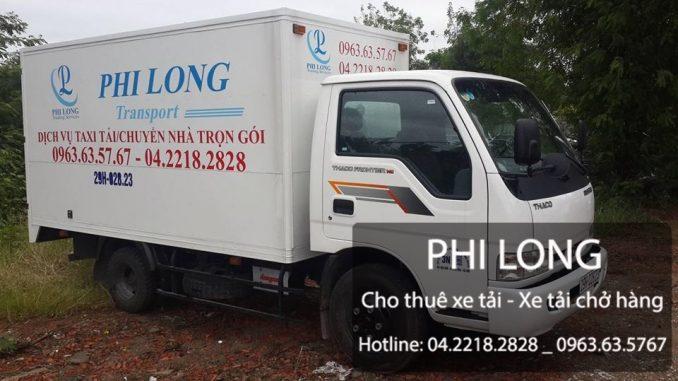 Phi Long cho thuê xe tải vận chuyển hàng hóa tại Hà Nội