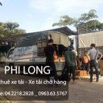 Taxi tải Phi Long hãng chuyển nhà uy tín hàng đầu Phi Long cho thuê xe tải chở hàng tại phố Nhà Chung