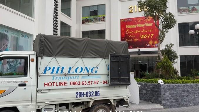 Phi Long cung cấp cho thuê xe tải chuyển nhà giá rẻ tại phố YEC Xanh