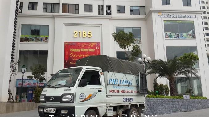 Taxi tải Phi Long hãng cho thuê xe tải chở hàng giá rẻ tại phố Vạn Kiếp