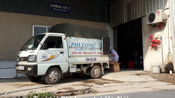 Phi Long cho thuê xe tải chở hàng tại phố Triệu Việt Vương