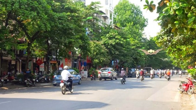 Taxi tải Phi Long tại phố Nguyễn Chí Thanh