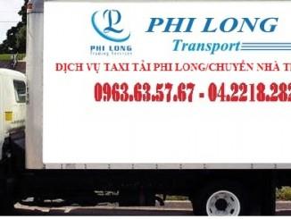 Dịch vụ taxi tải Phi Long tại phố Vọng 2019