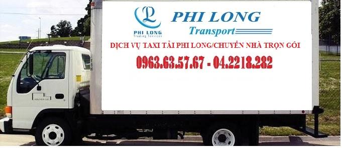 Dịch vụ taxi vận tải bắc nam của Phi Long