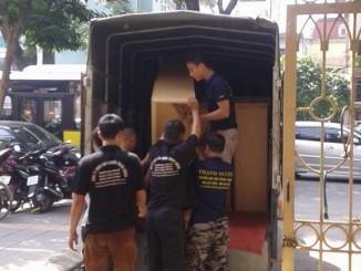 Cho thuê xe tải chuyên nghiệp tại phố Vũ Hữu
