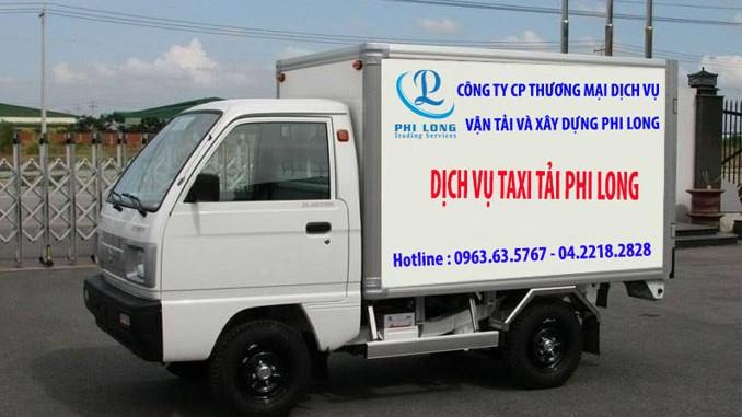 Cho thuê xe tải giá rẻ tại phố Phan Văn Trường