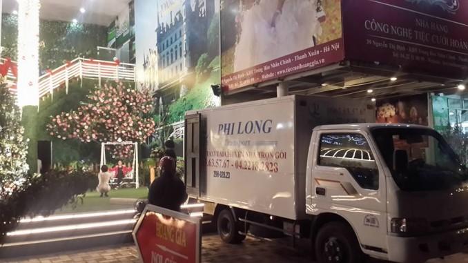 Cho thuê xe tải chuyên nghiệp tại phố Đại La