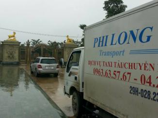 Dịch vụ cho thuê xe tải chở hàng tại phố Đào Duy Anh