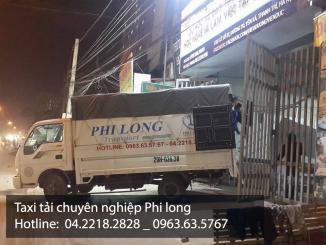 Taxi tải chuyên nghiệp Phi Long tại phố Bùi Xương Trạch