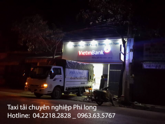 Cho thuê xe tải giá rẻ tại phố Lê Văn Lương