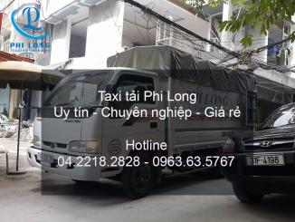 Dịch vụ taxi tải chuyên nghiệp tại phố Cảm Hội