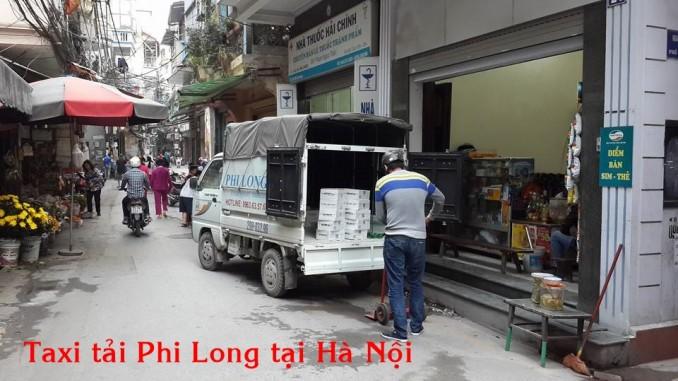 Taxi tải Phi Long giá rẻ tại đường Ao Sen