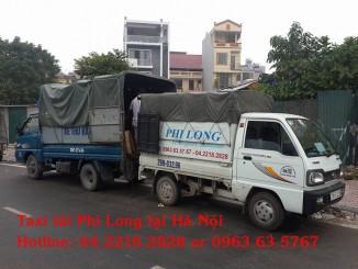 Taxi tải Phi Long tại phố Hội Xá 2019