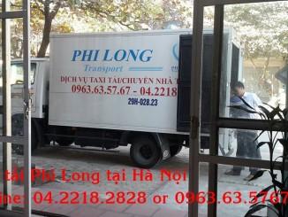 Công ty Phi Long chuyên cho thuê xe tải giá rẻ tại phố Lê Văn Lương