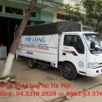 Dịch vụ cho thuê xe tải chuyển nhà tại đường Khuất Duy Tiến