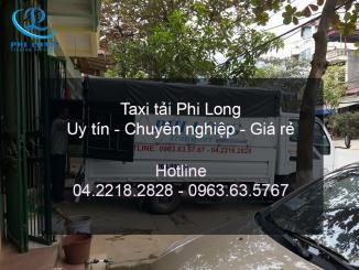 Taxi tải chuyên nghiệp Phi Long giá cực rẻ tại phố Hoàng Văn Thái