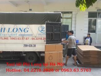Dịch vụ taxi tải chuyên nghiệp tại phố Nguyễn Quý Đức