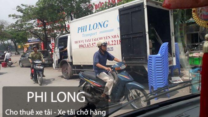 Phi Long cho thuê xe tải chuyển nhà tại phố Hào Nam
