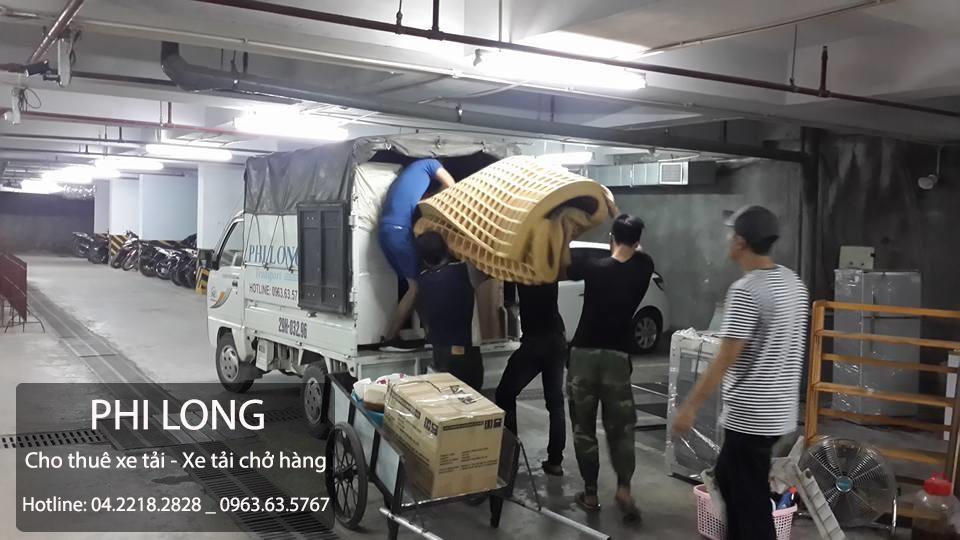Cho thuê xe tải giá rẻ tại phố Hào Nam