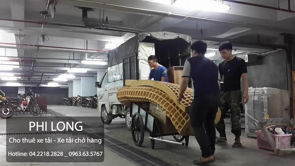 Dịch vụ cho thuê xe tải giá rẻ uy tín tại phố Võ Văn Dũng