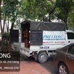 Chuyển nhà giá rẻ cho thuê xe tải chuyên nghiệp Phi Long tại phố Đặng Tiến Đông