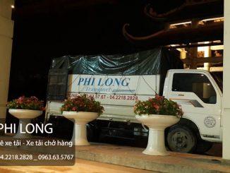 Phi Long hãng cho thuê xe tải uy tín hàng đầu tại phố Thái Thịnh