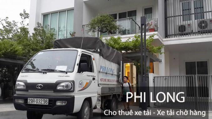 Phi Long cung cấp cho thuê xe tải chở hàng giá rẻ chuyên nghiệp tại phố Lương Khánh Thiện
