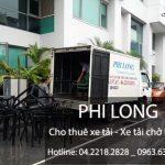 Dịch vụ cho thuê xe tải chở hàng giá rẻ chuyên nghiệp tại phố Lý Thái Tổ