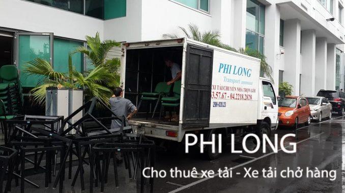 Phi Long cung cấp cho thuê xe tải chở hàng giá rẻ tại phố Nguyễn Gia Thiều