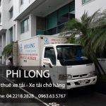 Phi Long cho thuê xe tải chở hàng giá rẻ nhất tại Việt Nam