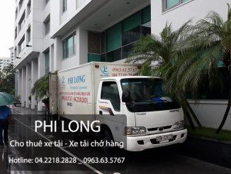 Phi Long dịch vụ cho thuê xe tải giá rẻ tại phố Phan Chu Trinh