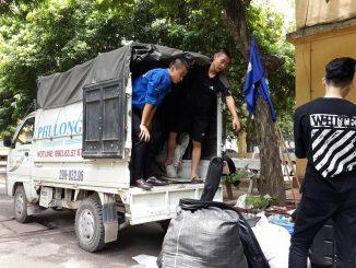 Phi Long cung cấp cho thuê xe tải chuyển nhà giá rẻ tại đường Xã Đàn