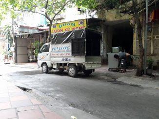 Cho thuê xe tải chở hàng giá rẻ tại phố Hoàng Tích Trí