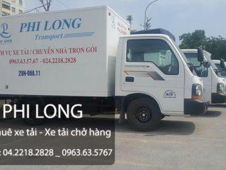 Phi Long cho thuê xe tải chở hàng tại Ngõ Văn Chương
