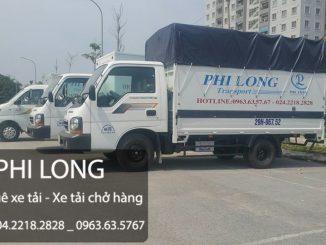 Dịch vụ cho thuê xe tải giá rẻ tại phố Trần Quý Cáp